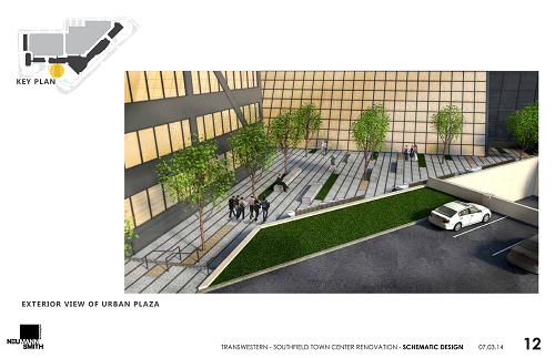 Schematic Designs of 3000 Town Center of Urban Plaza
