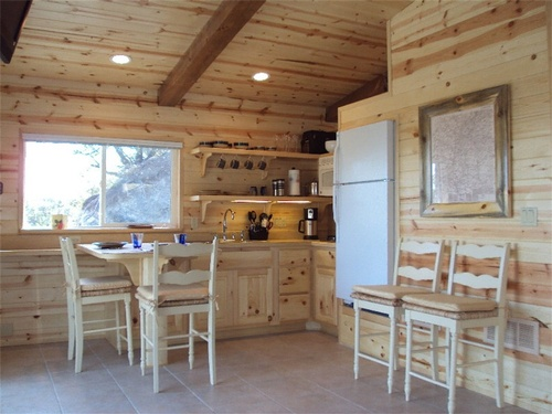 Brannin Cabin Dining and Kitchen
