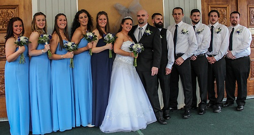Stephanie and Matt Wedding March 2015