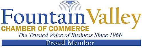 Show that you are a PROUD MEMBER of the Fountain Valley Chamber. Add this logo to your website and Facebook page!