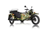 Ural Gear-Up in Forest Camo