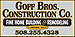 Goff Brothers Construction Company Inc.