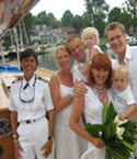 Weddings Selina II Sailing Charters