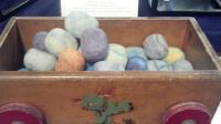 Handfelted Wool Wrapped Natural Soaps...what a neat idea!