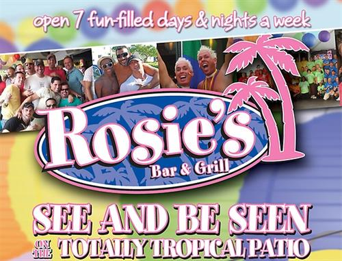 See and be Seen at Rosie's Bar & Brill