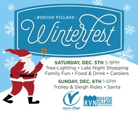 WinterFEST, Dec 5 & 6 only in Roscoe Village!