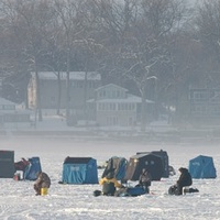 Ice Fishing in Jackson County