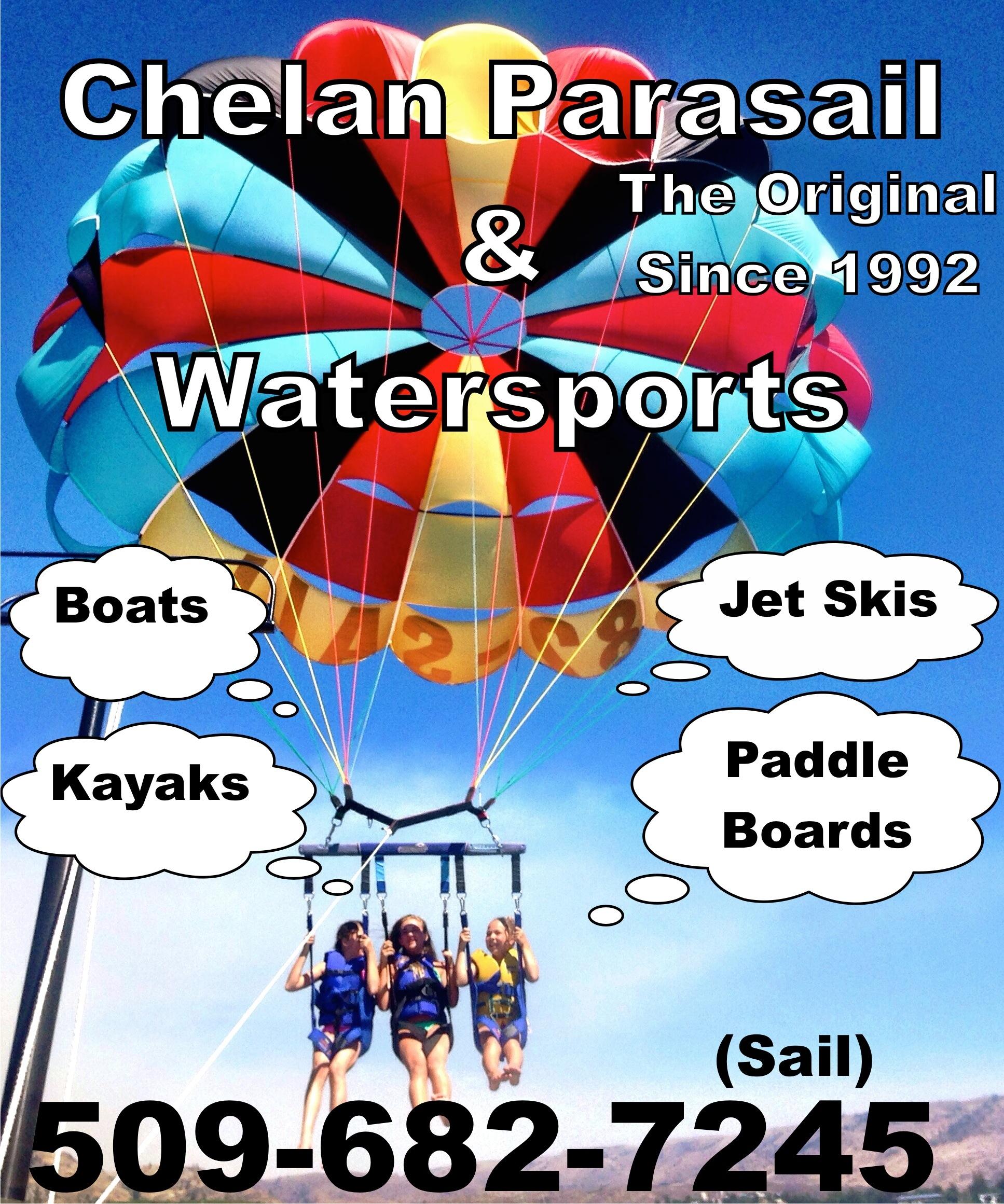 Chelan Parasail & Watersports
