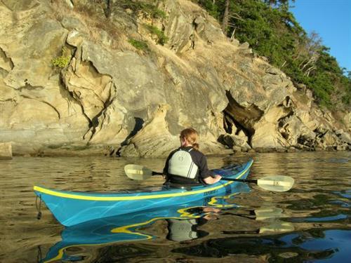 Sucia Island kayaking.