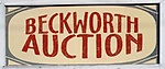 Beckworth Auction Service