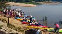 River Rat Run Canoe Paddle, Pre-launch