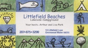 Littlefield Beaches Lakeside Campground