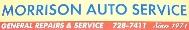 Morrison Auto Service