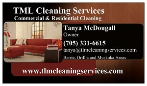 TLM Cleaning Services - Barrie