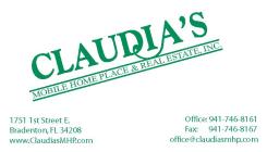 Claudia's Mobile Homes & Real Estate, LLC