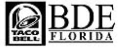 Taco Bell - BDE Florida, LLC