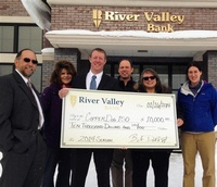 River Valley Bank is a the LEAD Dog sponsor for CopperDog150