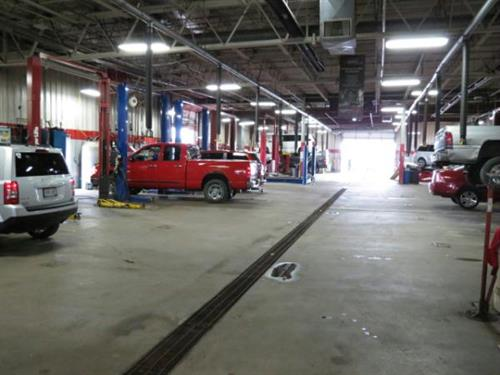 We service all makes and models in our Service Department!