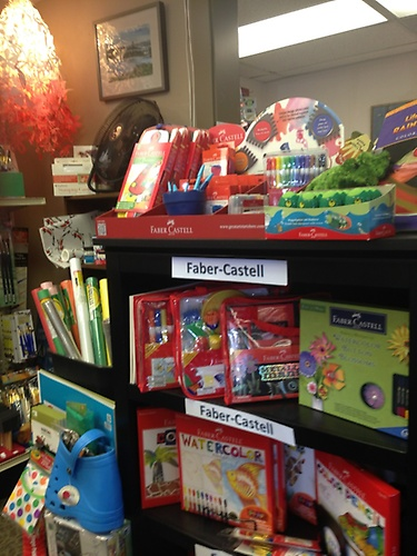 Bored kids?  Shopping for a birthday gift?  Essentials has puzzles, books, craft kits, you name it!