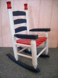 Hand Crafted Childs Rocking Chair