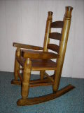 Locally Made Childs Rocking Chair