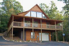 Beech Cove Cabin 2 bedroom, 2.5 bath cabin rental with awesome mountain views.