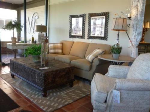Highland House Sofa, Lexington Chair and Table