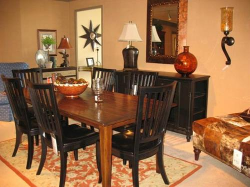 Hooker Table and Chairs, Winners Only  TV Console