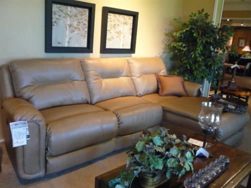 Lane Power Recliner Sectional with Chaise