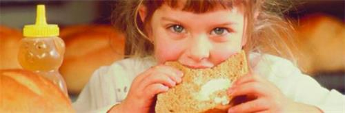 Kids & whole-grains = happy kids with healthy brains and bodies.