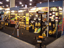 Johnson Level Trade Show Booth