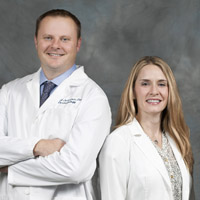 Dr. Johnston and Susan Gaither, FNP