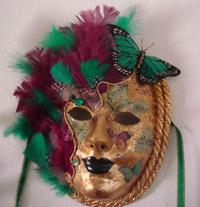 Venetian Mask Making Avatar Mask $125