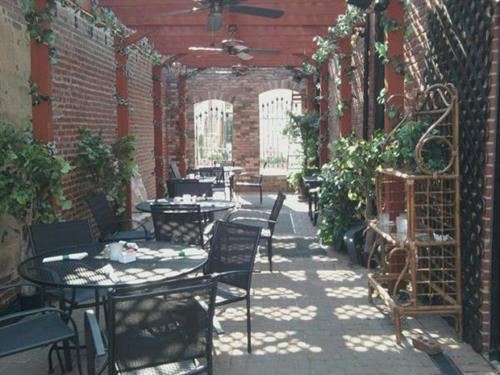 Enjoy our charming patio