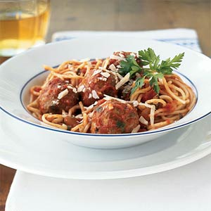 The Classic Spaghetti & Meatballs