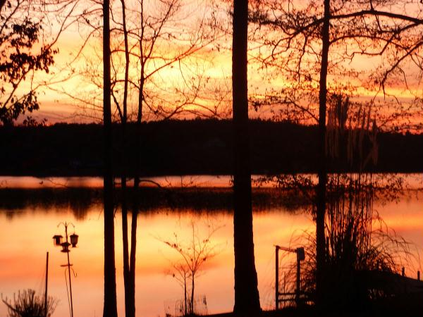 Sunsets on the lake- unbeatable, ever-changing, awe-inspiring.