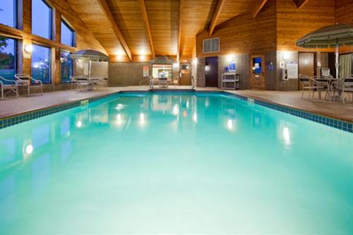 Inviting Pool and Recreation Area