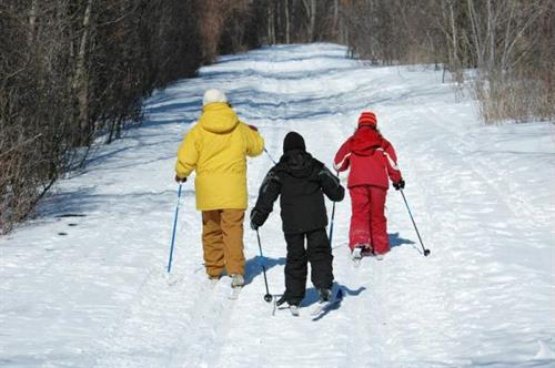 Endless trails for skiing, snowmobiling, snowshoeing, and more!