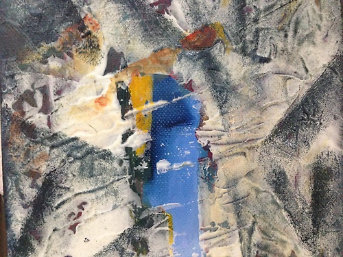 Abstract Art by Bruce Zielger at The Overland Gallery