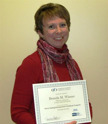 Brenda Wiener - CNHP wellness consultant