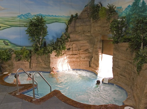 Indoor/Outdoor Hot Tub