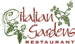 The Italian Gardens Restaurant
