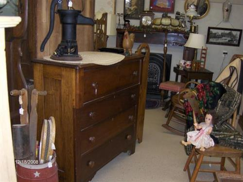 Dressers, Rocking Chairs, Pumps, more.