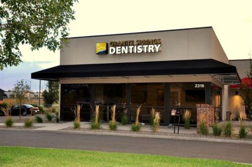 Exterior of Granite Springs Dentistry