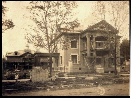 Cartier Mansion - Under Construction in 1905