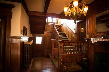 Cartier Mansion - Stairway