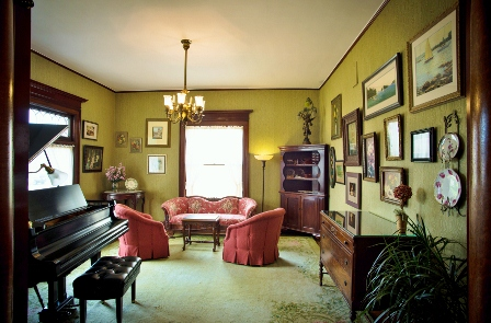 Cartier Mansion - Music Room