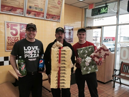 Hungry Howies for Christmas Dinner