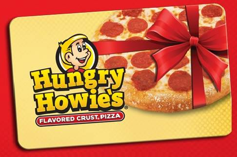 Hungry Howies Gift Cards are great to give