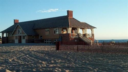 The Ludington State Park ''Beach House''. Another Lake Michigan beach.